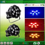 Migliore indicatore luminoso di PARITÀ di prezzi 9PCS Rgbway 6 in-1 LED