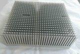 Dissipadores de calor de alumínio personalizados com sopro de areia de superfície