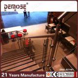 Steel Handrail (DMS-B21481)를 가진 싼 Glass Stair Railing