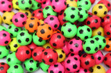 This Is a Football Pattern of Elastic Ball/Bouncy Ball