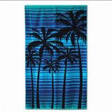 Toalha de praia impressa algodão 100% de toalha de banho do Velour