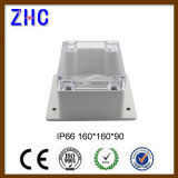 Cadre électrique de pièce jointe de la Chine de boîte de jonction de couverture de PVC de cadre d'espace libre en plastique clair de l'électronique pour électronique