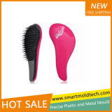 Salão de beleza Injection Moulding Plastic Hair Brush (SMT 073PIM)