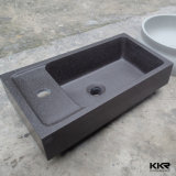 Тазик мытья ванной комнаты камня смолаы конкурентоспособной цены твердый поверхностный (161025)