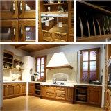 優雅な形のN及びL純木の台所家具