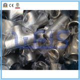 Te de la instalación de tuberías de acero inoxidable de JIS
