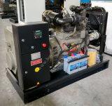 Электростанция 50kw двигателя дизеля Рикардо портативная молчком тепловозная