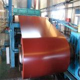 La couleur plongée chaude PPGI a enduit l'enroulement d'une première couche de peinture en acier galvanisé