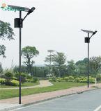 최신 도매 80W는 10m 폴란드를 가진 태양 LED 가로등을 나누었다