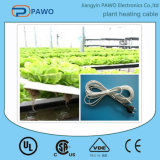Cable térmico antihielo de la planta del PVC con el termóstato de la temperatura