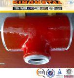 Te de las instalaciones de tuberías de acero de aleación de A335 P11 P12 P22