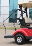 Smooth rosso 2 Seater Electric Golf Cart con Kids Stand Plate (EQ9022)
