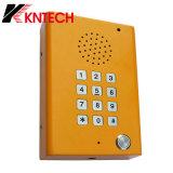 Telefone Knzd-29 da borda da estrada do telefone Emergency da sala de limpeza de Koontech