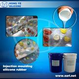 Caoutchouc de silicone transparent pour la moulage de diamant en résine