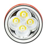 Qualität 4, 000lumens IP68 LED Tauchens-Aluminiumfackel Wy08