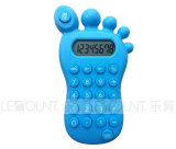 8 dígitos Foot Shape Gift Calculator com Various Optional Colors (LC517)