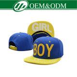 Kühler Hip Pop 3D Embroidery Snapback Cap für Boys