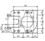 Querfluss-Ventilator Wechselstrom-220V