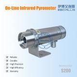 Range ancho Temperature Measurement Infrared en línea Digital Thermometer