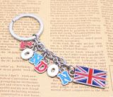 L'Inghilterra Style Fashionable Metal Key Chain per Tourism Crafts