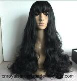 Горячие продавая волосы новых волн способа больших женские черные курчавые
