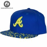 Tampão do lazer do OEM do Snapback da viseira da cópia do Sublimation da forma com impressão do bordado