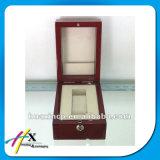 Spitzenzoll lackierter hölzerner Armbanduhr-Verpackungs-Kasten