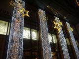 Lumière de cascade à écriture ligne par ligne de rideau en chaîne de caractères de la décoration DEL de noce