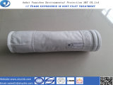 Nichtgewebtes PTFE Filtertüte-Filtergehäuse für Staub-Ansammlung mit freier Probe
