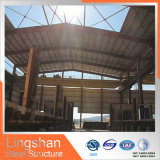 安くプレハブの鉄骨構造の倉庫南アフリカ共和国(LS-SS-017)