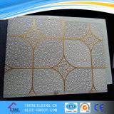 Conceptions de plafond/couleur de gypse de PVC