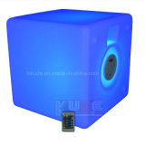Do '' altofalante Tablecolorful do cubo diodo emissor de luz 16, Portable, de controle remoto, Bluetooth