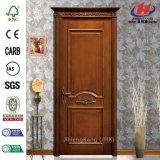 Porte en bois intérieure de luxe parfaite d'artisan