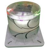 Farbiges LED-Hof-Lampen-Garten-Solarlicht