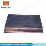 Material revestido Titanium de cobre de la placa/del revestimiento Material/Bimetallic