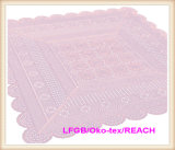 Tablecloth do Crochet do laço do vinil do PVC/