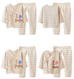 Комплект ткани младенца хлопка цвета природы Newborn
