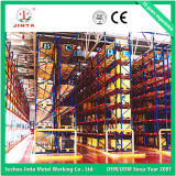 Cremalheira do mezanino, movimentação na cremalheira do armazenamento, cremalheira do armazenamento da qualidade (JT-C09)
