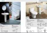 Ganzwäsche Colse Doupled Toilet 6liters Leeren-Water Saving Model