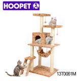 거대한 고양이 나무위 집 호화스러운 고양이 가구
