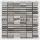 Mattonelle di mosaico di marmo semplici per la parete o il pavimento