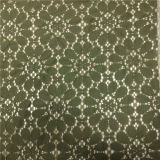 2016 고품질 및 최신 면 또는 나일론 레이스 직물 (6458)