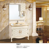 Nuevo Highquality Antique Wood Bathroom Vanity con Side Cabinet
