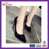Chaussures aiguës pointues de femmes de ressort de tep