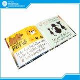 Livro infantil bem-desenvolvida Printing de Full Color em China