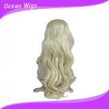 Parrucca sintetica ondulata più lunga