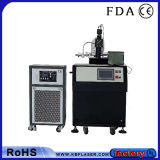 Petite machine de soudure laser de fibre de moulage en métal industriel