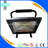 재충전용 6000 Lumens 50W LED Floodlight, Outdoor Flood Light