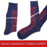 Высокое качество носка отдыха хлопка гребня людей (UBM1036)