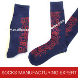 Beiläufige Muster-Socken der Männer